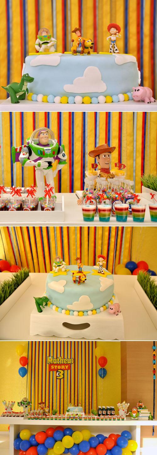 Festa com motivo Toy Story
