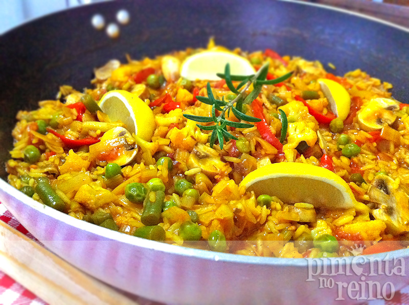 paella vegetariana gt pimenta no reino