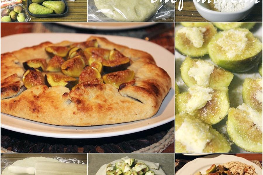 Cozinha da leitora – Galete de pera e figo