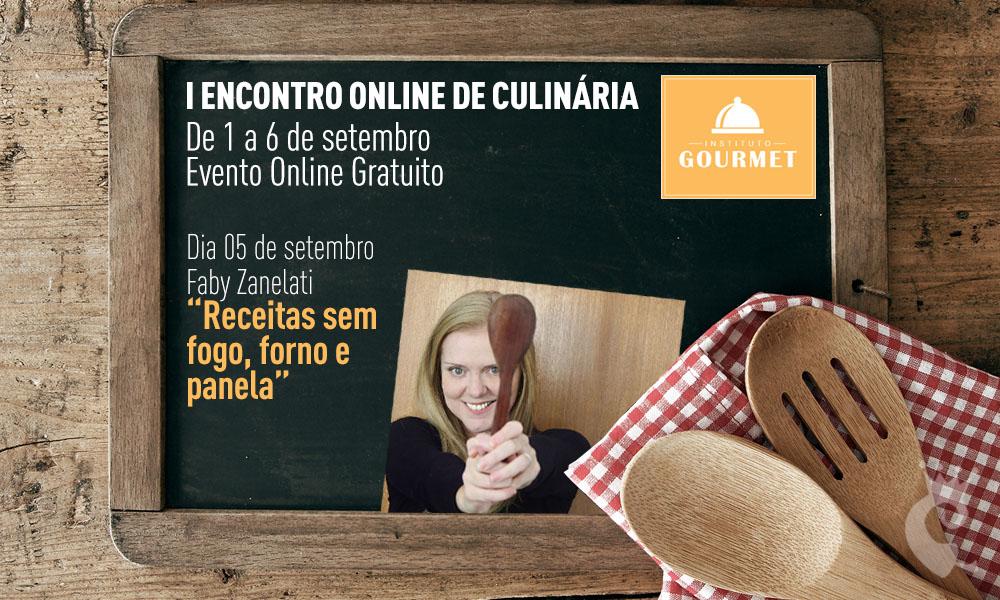 I Encontro Online de Culinária