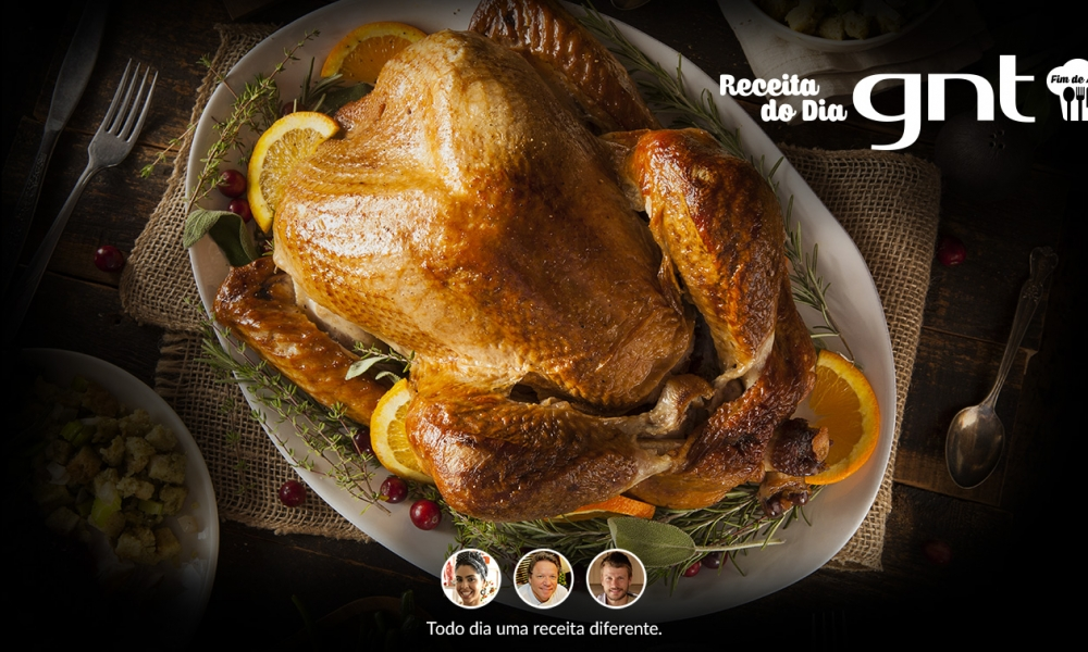 Ceias com receitas de chefs e cozinheiros da TV