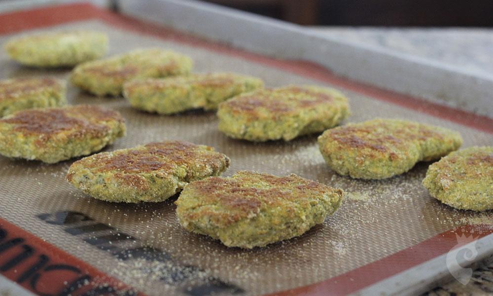 Nuggets de brócolis