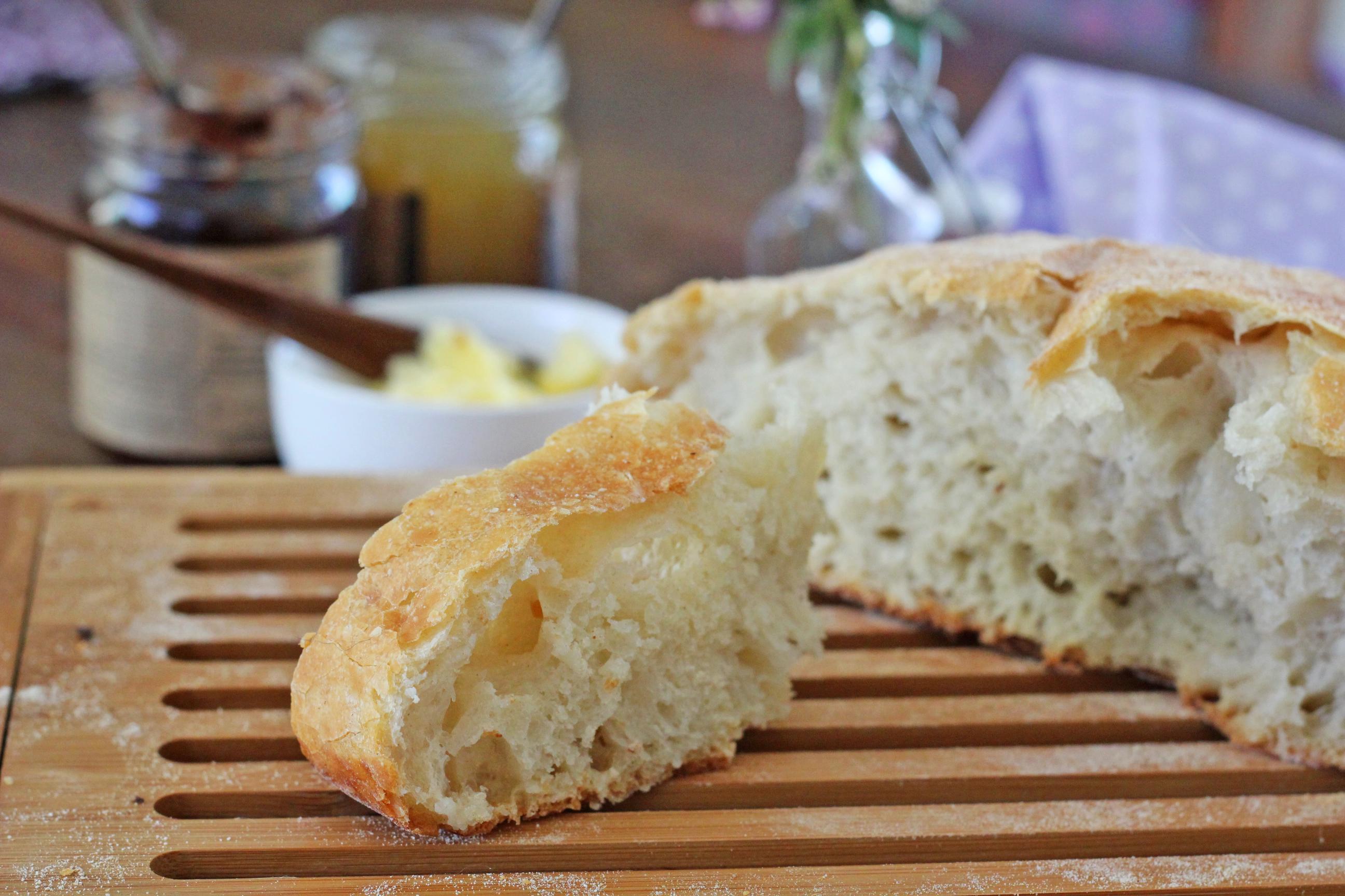 como fazer pão italiano sem sova